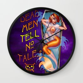 Shallow Grave Wall Clock