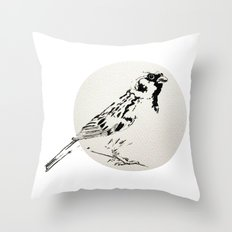 Sparrow Throw Pillow