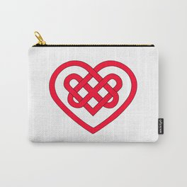 Celtic Heart (Light) Carry-All Pouch