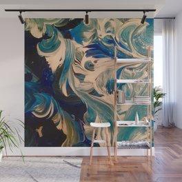 Ocean Swirl Wall Mural