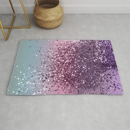 Unicorn Girls Glitter #6 #shiny #pastel #decor #art #society6 Rug