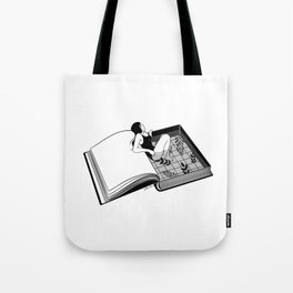 Drenched through my mind Tote Bag