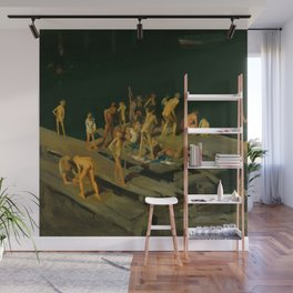 "George Wesley Bellows ""Forty-two Kids"" Wall Mural"