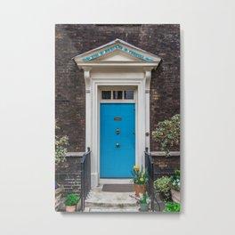 Warders' Door at Tower of London England Metal Print