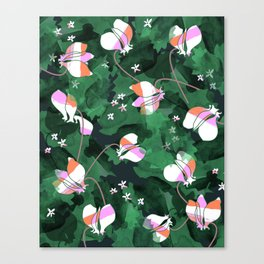 Cyclamen Spring Flowers Print Canvas Print