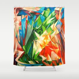 Franz Marc Birds Shower Curtain