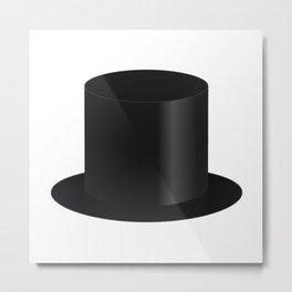 Top Hat Metal Print