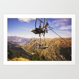Come see Queenstown Art Print