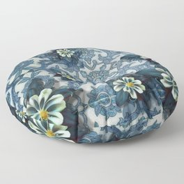 """Andalusian spring night"" Floor Pillow"
