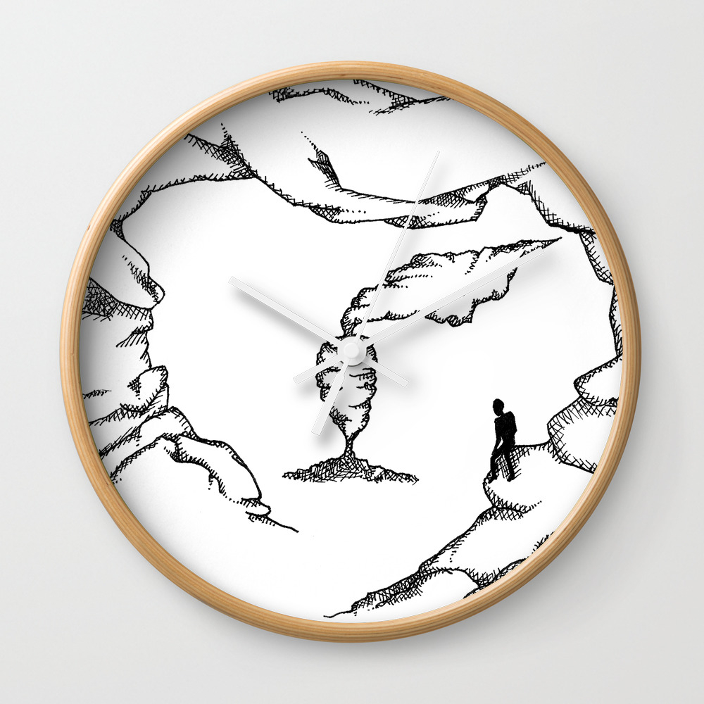 Been There, Doing That Wall Clock by Girplejuice CLK8360098