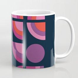 Outta Sight - 70s retro throwback trendy vintage style geometric 1970's Coffee Mug