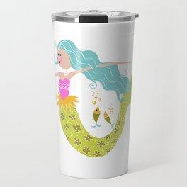 Kids Mermaid//Mermaid Tail//Ocean Sealife Fish Travel Mug