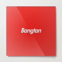 BTS Bangtan Box Logo Metal Print