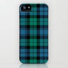 Blackwatch Ancient Tartan | Scottish Blackwatch Tartan iPhone Case