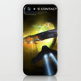 We Have Contact - Portrait 01 iPhone Case