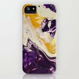 """""""Geaux Tigers"""" by Laurie Ann Hunter iPhone Case"""