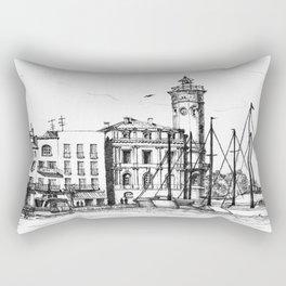 Port de La Ciotat Rectangular Pillow