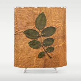 Leaves Shower Curtain