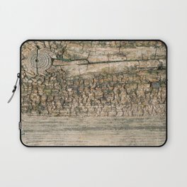 Rustic Wood Turquoise Weathered Paint Wood Grain Art Print Rustic Wood Turquoise Weathered Paint Woo Laptop Sleeve