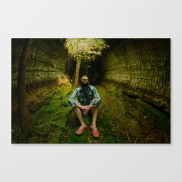 Underground hide outs Canvas Print
