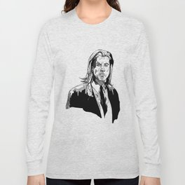 Vincent Vega Long Sleeve T-shirt