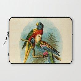 Vintage Parrots Laptop Sleeve