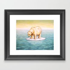 S.O.S. Framed Art Print