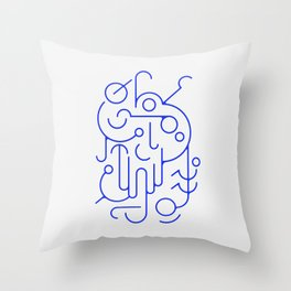 Lines 01 Throw Pillow