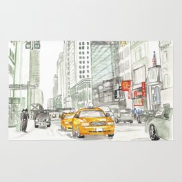 New York City Taxi Rug