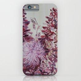 October Flowers iPhone Case