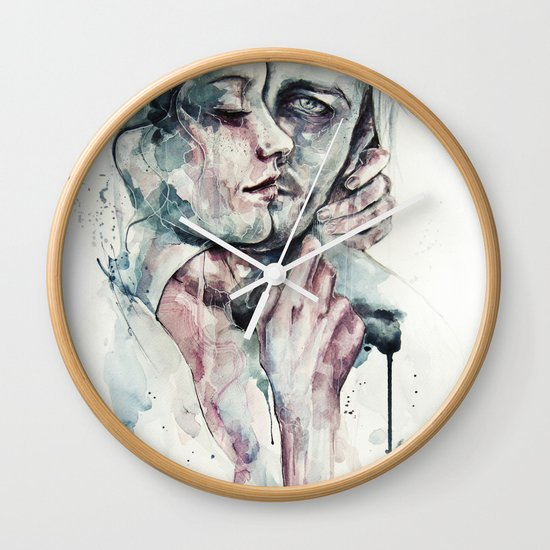 forever yours freckles Wall Clock