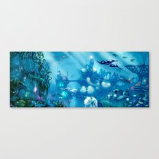 Deep Below Canvas Print