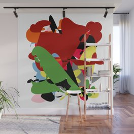 Forest of Colors, Abstract Art Wall Mural