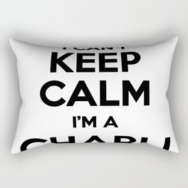 I cant keep calm I am a CHARLI Rectangular Pillow
