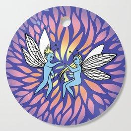 Fairy Lights Cutting Board