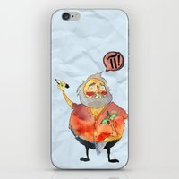 pi iPhone & iPod Skins featuring Pi Power! by Jo-L Hate