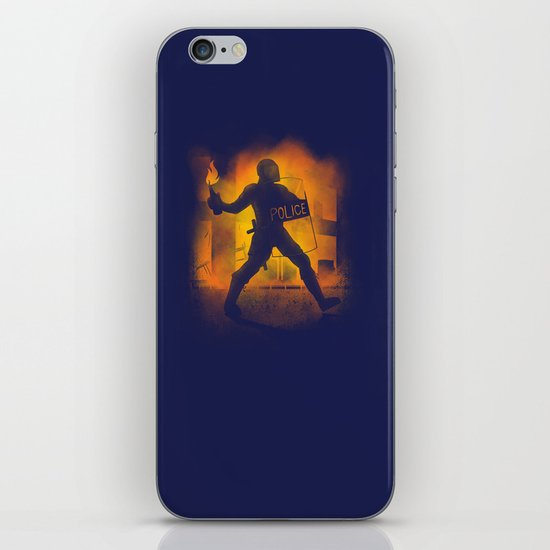 Riot Cop iPhone & iPod Skin