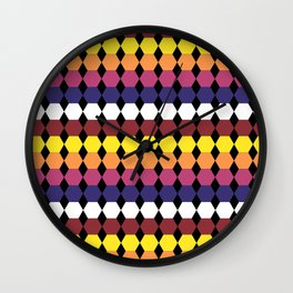 Colorbars Wall Clock