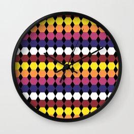 Colorbars Wall Clock