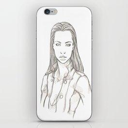 DarkLife Saga Characters: Val Bust iPhone Skin