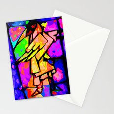 midnite messenger  Stationery Cards