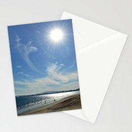 Sunny Beach Day Stationery Cards