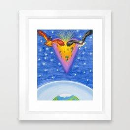 Eagle's Flight Framed Art Print