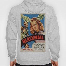 Vintage poster - Blackmail Hoody