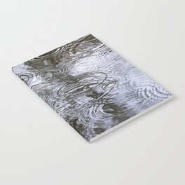 Abstract Raindrops Notebook