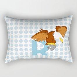 r for roc Rectangular Pillow