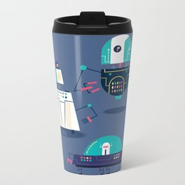 :::Mini Robot-Nanoi::: Metal Travel Mug
