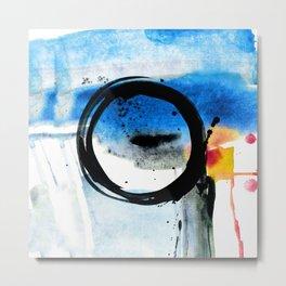 Enso Abstraction o. 113J by Kathy Morton Stanion Metal Print