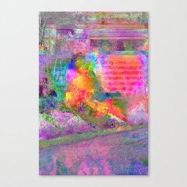 Burner Canvas Print