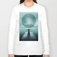 nordic Long Sleeve T-shirts featuring Nordic magician by Tony Vazquez